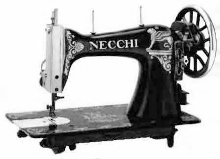 maquina coser necchi