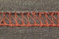 ejemplo costura overlock 2 telas
