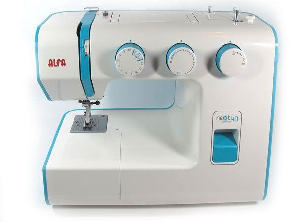Máquina de coser completa alfa next 40