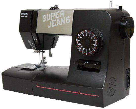 Maquina de coser cuero fino y vaqueros