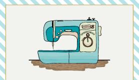 máquina de coser para uso doméstico