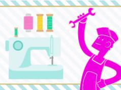 Mantenimiento de la máquina de coser