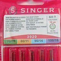 agujas máquina de coser singer