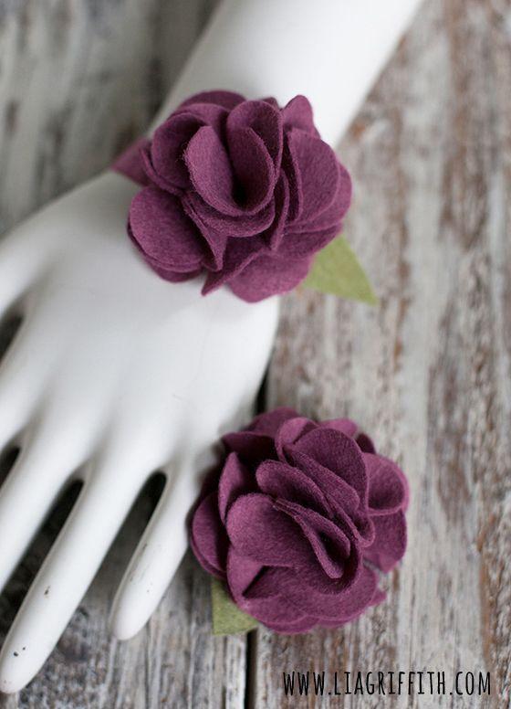 flores de fieltro descargar