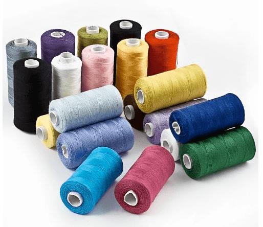 hilos de coser de poliester