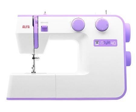 maquina de coser alfa style 40