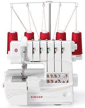 maquina de coser-overlock singer professional 5