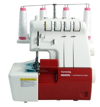 review maquina overlock toyota slr4d