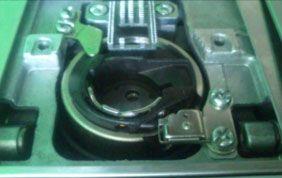 bobina de plastico de la maquina de coser